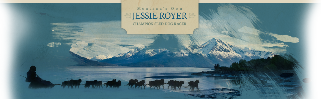 Jessie Royer, Chamion Sled Dog Racer